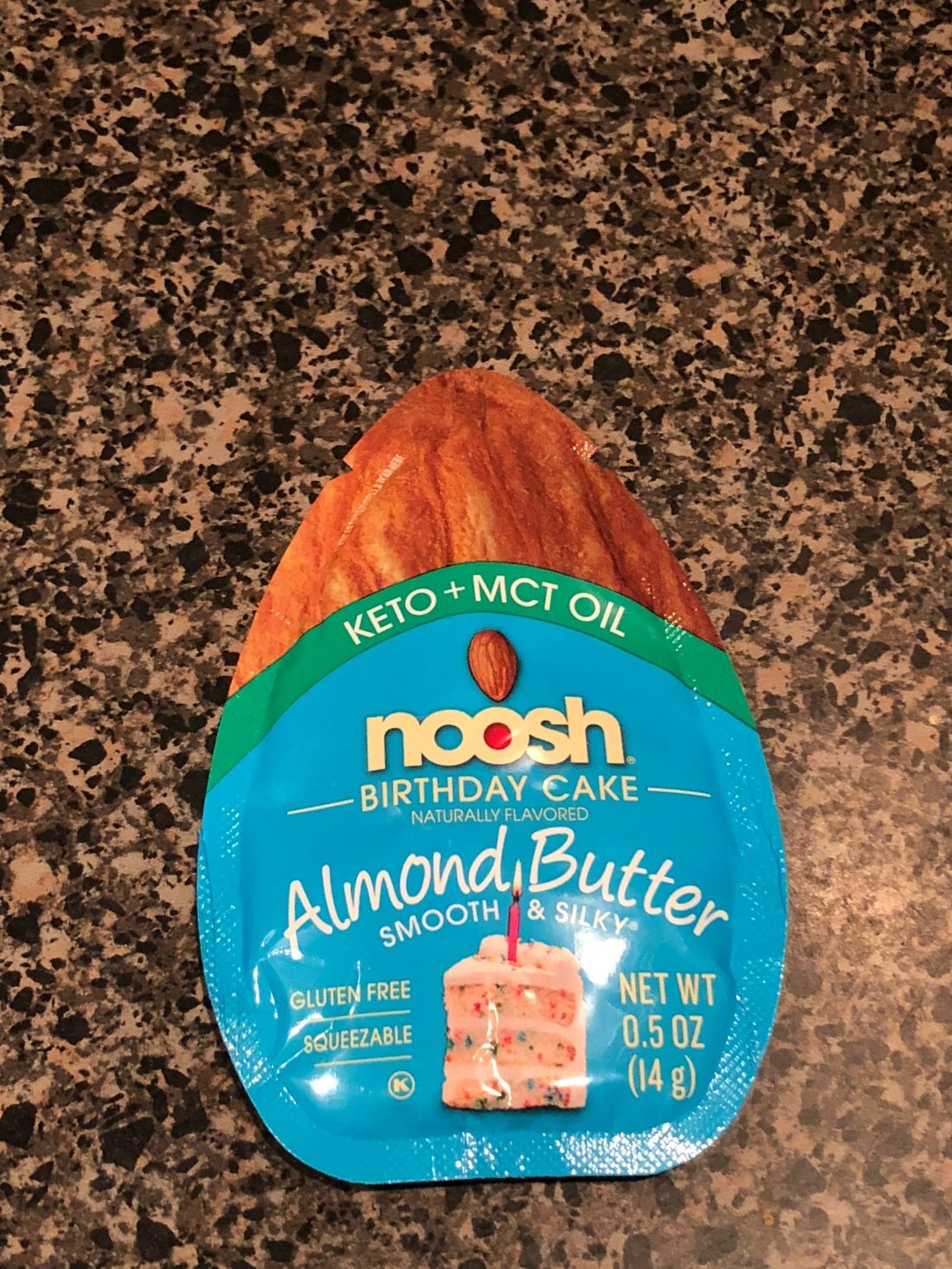 Noosh Keto Almond Butter Birthday Cake Review